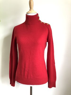 Lauren by Ralph Lauren - Red 100% Cashmere Sweater - Size XS Extra Small for Sale in Takoma Park, MD