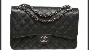 Authentic Chanel Jumbo Caviar Leather Handbag for Sale in Gilbert, AZ