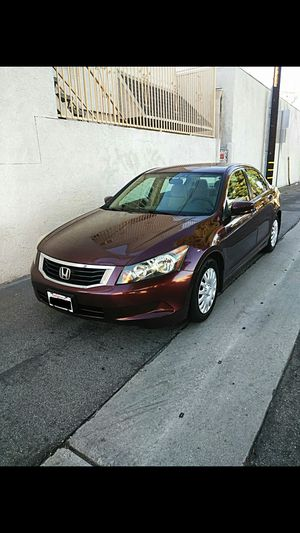HONDA ACCORD 2008.. BLUETOOTH.. SALVAGED TITLE..130KMILES.. CAMERA TOUCHSCREEN.. ECONÓMICO EN GAS.. EXCELLENT CONDITION..!! for Sale in Lynwood, CA
