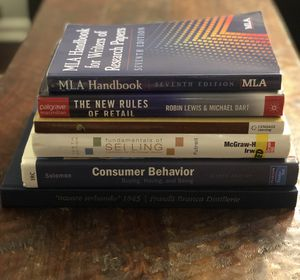 College textbooks- business & fashion $1 each or $5 for all for Sale in Denver, CO