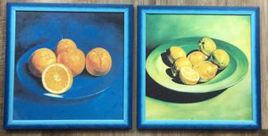 Canvas Wall Art/ Set of square paintings ( 12.75 in) for Sale in Washington, DC