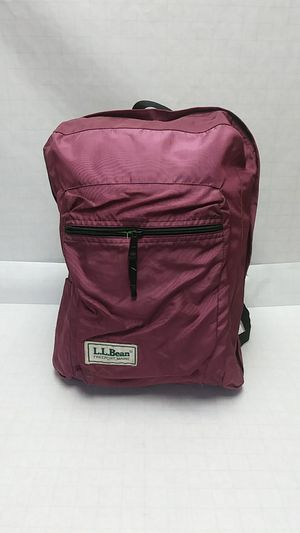 LL Bean small Book Bag. Large main pocket with front pocket. for Sale in Portland, OR
