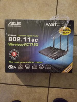 Asus RT-AC66U router. New! for Sale in Grand Prairie, TX