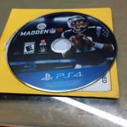 PS4 Madden NFL 18 for Sale in Hialeah,  FL
