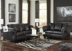 Brand new ashley durablend leather sofa and loveseat on sale today for Sale in Columbus, OH