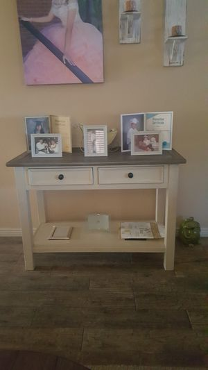 Sofa table ....farmhouse from ashleys furniture for Sale in Tolleson, AZ