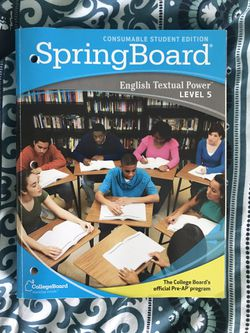Springboard- Level 5 English Student Workbook for Sale in Allen,  TX