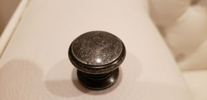 44 kitchen cabinet / drawer knobs. New condition. Dark with silver accent for Sale in Boynton Beach, FL