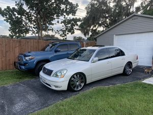 Lexus LS430 Excutive Diamond Pearl White maintained for Sale in Palm Harbor, FL