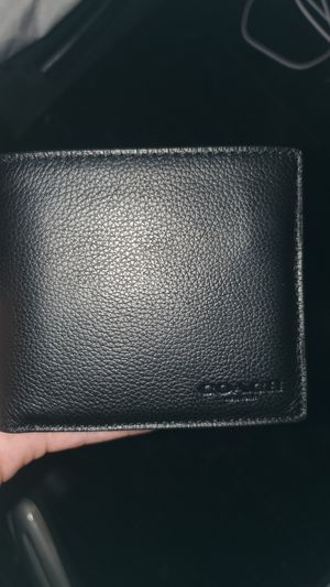 Coach wallet for men for Sale in Huntington Park, CA