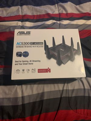ASUS RT-AC5300 WIFI ROUTER for Sale in Pasadena, CA