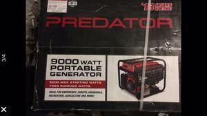 $ 550 Brand New 9000 Watts Predator Generator Brand New in Box Great Deal for Sale in San Bernardino, CA