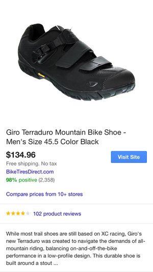 Giro Terraduro Mountain Bike Shoe - Men's size 13 plus shimano spd clips. for Sale in South Salt Lake, UT