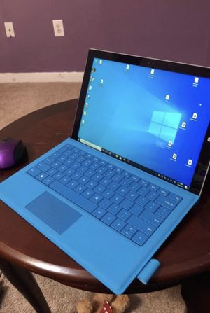 Microsoft Surface Pro 3 Laptop i3 w Charger Pen and Keyboard for Sale in New Britain, CT