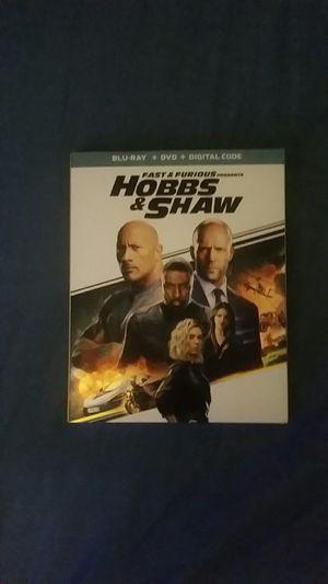Hobbs & Shaw Blu-ray + DVD + Digital Code for Sale in East Norriton, PA