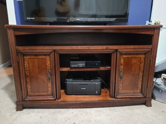 Solid Wood Entertainment Center for Sale in Waterford Township,  MI