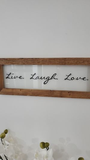 Live Laugh Love Small Sign for Sale in Laurel, MD