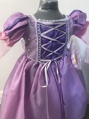 Princess Rapunzel Dress size 2 for Sale in Spring, TX