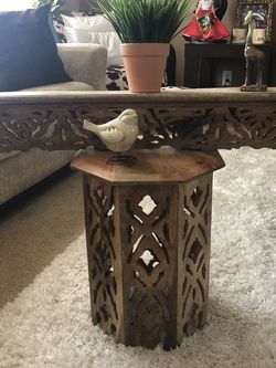Side Table With Shelf for Sale in Downey,  CA