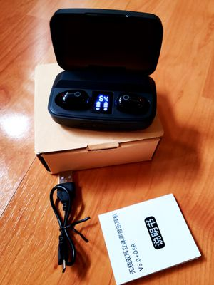 Bluetooth Headphones With Charging Case, LED Power Display Screen for Sale in Arlington, TX
