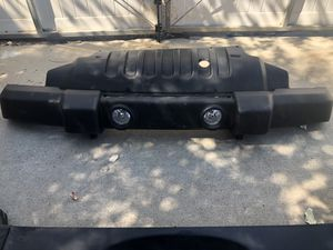 2017 Jeep Wrangler JL front and back bumpers with parts for Sale in Wildomar, CA