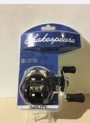 NEW Shakespeare Agility bait casting fishing reel for Sale in Coral Springs, FL