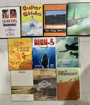 Surf Movie DVD Collection (10 total) for Sale in Santa Monica, CA