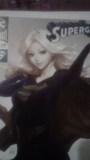 Supergirl #23 foil cover ....Them Eyes so Beautiful in foil👀👀 for Sale in Amory, MS