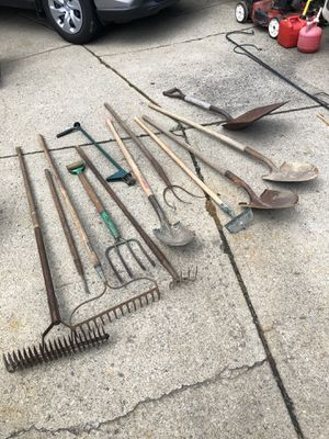 12 yard tools for Sale in Parma, OH