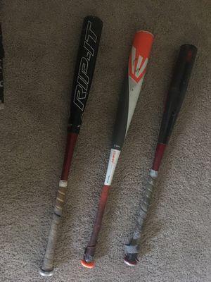 3 BBCOR baseball bat bundle for Sale in Bartow, FL