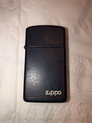 Vintage Navy Blue Zippo Lighter for Sale in Longwood, FL
