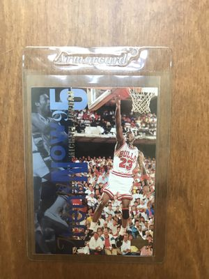 Michael Jordan then and now upper deck for Sale in Raleigh, NC