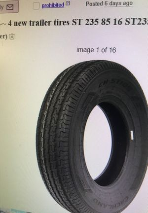 4 new trailer tires for Sale in Gresham, OR