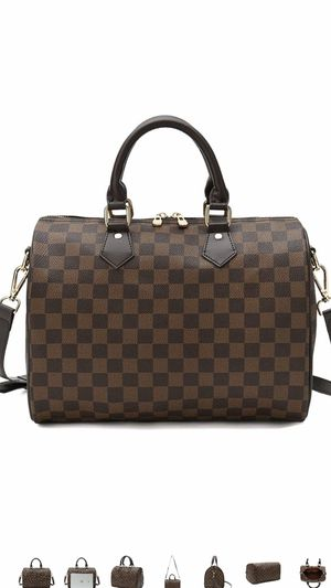 Fashion women top checkered monogram neverfall handbag, shoulder bag tote purse messenger bag for Sale in Henderson, NV