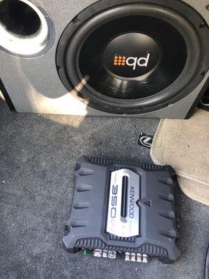 Kenwood Amplifier 350W for Sale in Fort Washington, MD