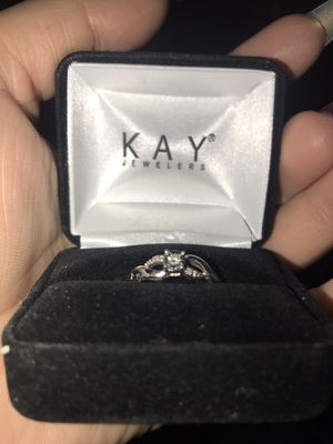 Diamond Promise Ring Sterling Silver for Sale in Los Angeles, CA