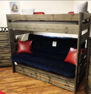 Futon bunk bed. Color choice for Sale in Glendale, AZ