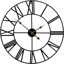 """Sorbus Large Decorative Wall Clock, 24"""" Round Oversized Centurian Roman Numeral Style Modern Home Decor Ideal for Living Room, Analog Metal Clock for Sale in Rancho Cucamonga, CA"""