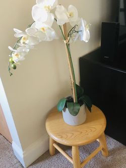 Fake Orchid And Plant Stand for Sale in Alexandria,  VA