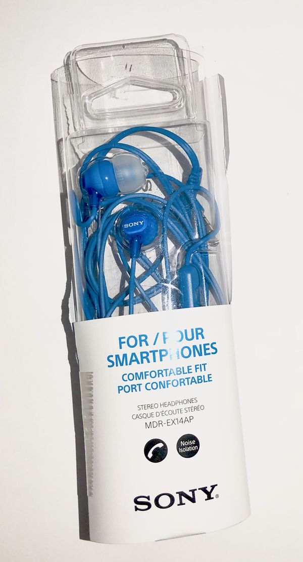 Brand new SONY STEREO HEADPHONES