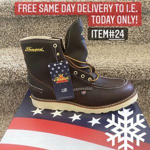 American Made Waterproof Thorogood Soft Toe Work Boot/Bota De Trabajo Impermeable Americana Thorogood Sin Casquillo for Sale in Highland, CA