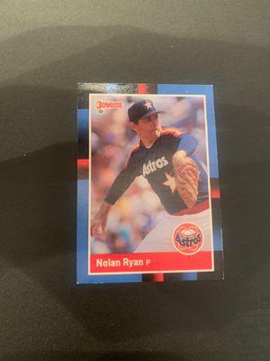 Nolan Ryan donruss baseball card for Sale in Spartanburg, SC