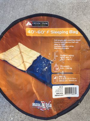 Ozarktrail Sleeping Bag for Sale in West Linn, OR