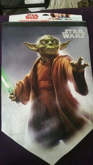 "Felt WINCRAFT 69106126 STAR WARS PREMIUM BANNER, MULTI, 17"" X 26"" for Sale in Columbus, OH"