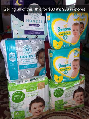 Baby diapers pampers for Sale in Los Angeles, CA