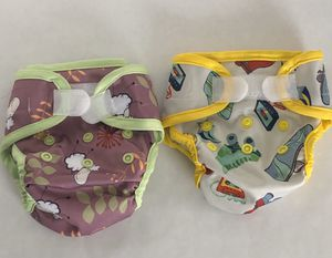 2 Newborn Cloth Diaper Covers for Sale in Los Angeles, CA