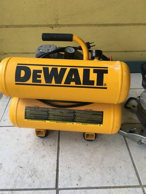 Dewalt air compressor for Sale in San Leandro, CA