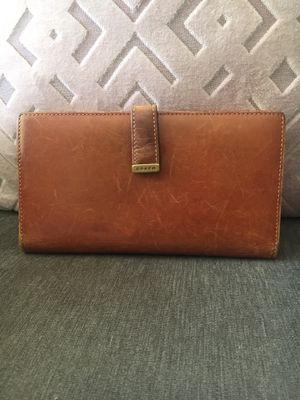 Brown leather coach wallet for Sale in Winter Springs, FL