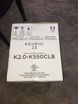 NEW KEURIG 2.0 COFFEE MAKER for Sale in Colesville, MD