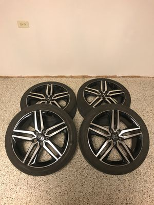 "19"" accord sport rims and tires for Sale in Mount Prospect, IL"